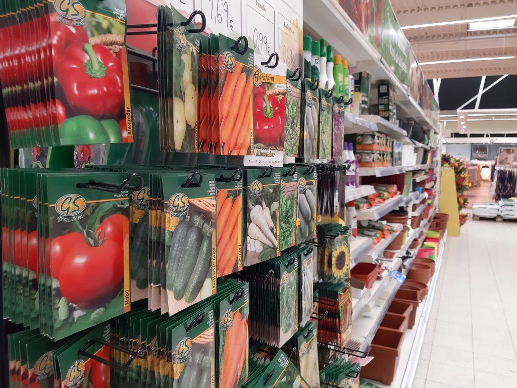 Široký výber semienv v potravinách. Zdroj snímky: Igelitka